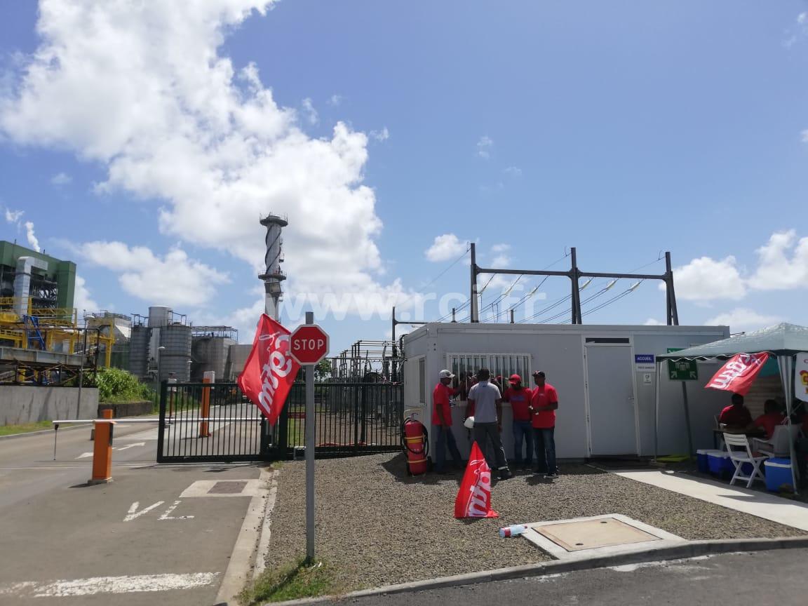 Cinq semaines de grève à l'usine Albioma