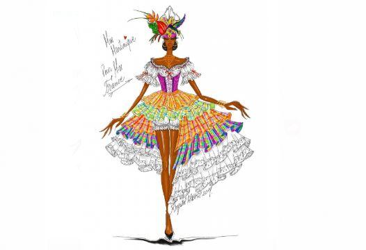 Miss Martinique défilera dans un costume de Matador revisité à l'élection de Miss France 2020