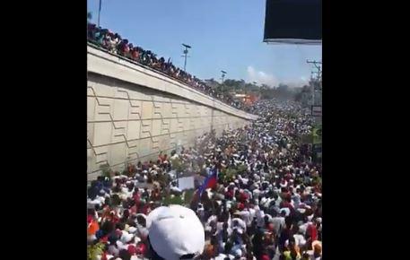 Haïti : des milliers de personnes ont de nouveau réclamé le départ de Jovenel Moïse