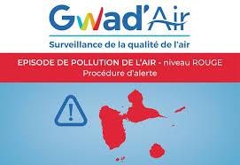 La qualité de l'air toujours aussi mauvaise en Guadeloupe