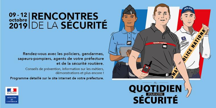 Les Rencontres de la Sécurité débutent ce mardi en Guadeloupe
