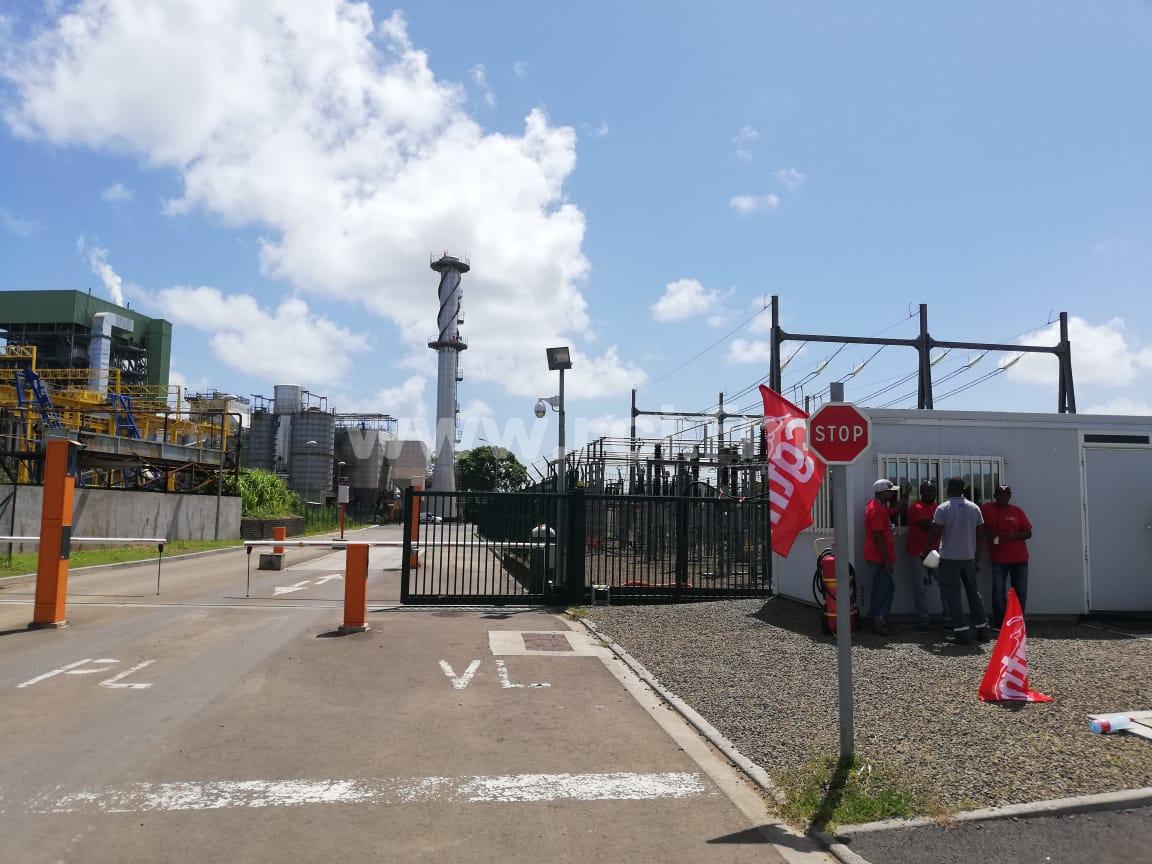 Le fonctionnement de l'usine Albioma perturbé par une grève