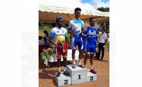 Un podium et une place de leader pour Cédric Eustache en Guyane
