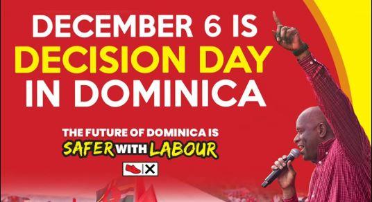 Les élections générales se tiendront le 6 décembre à la Dominique