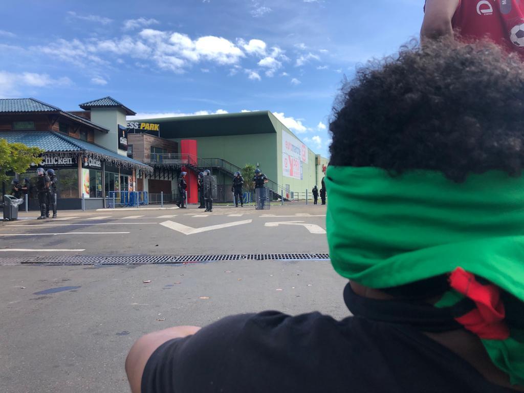 Vidéos de l'appel au boycott de l'hypermarché Euromarché au Robert