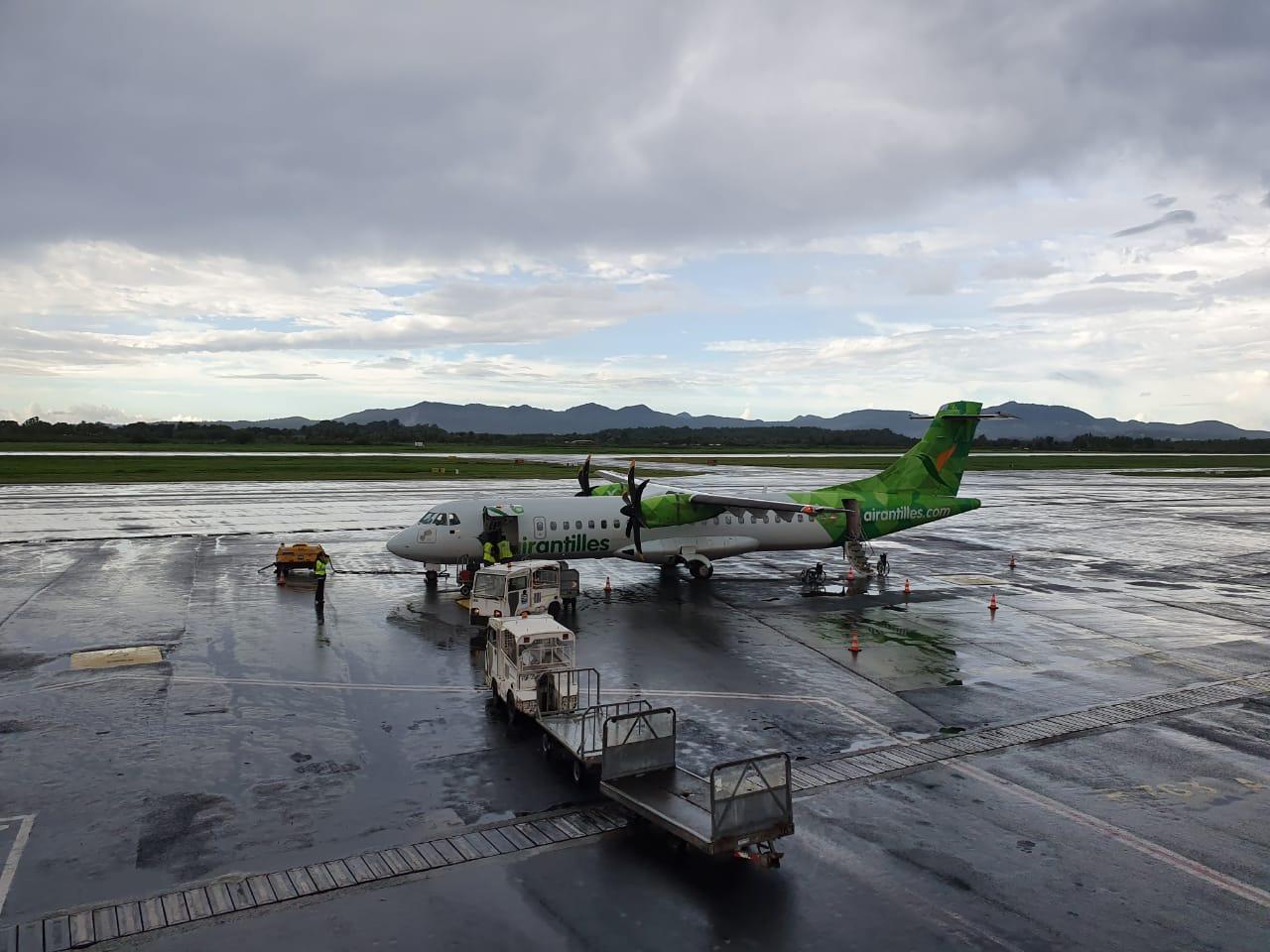 Faute d'autorisation préfectorale, Air Antilles suspend ses vols