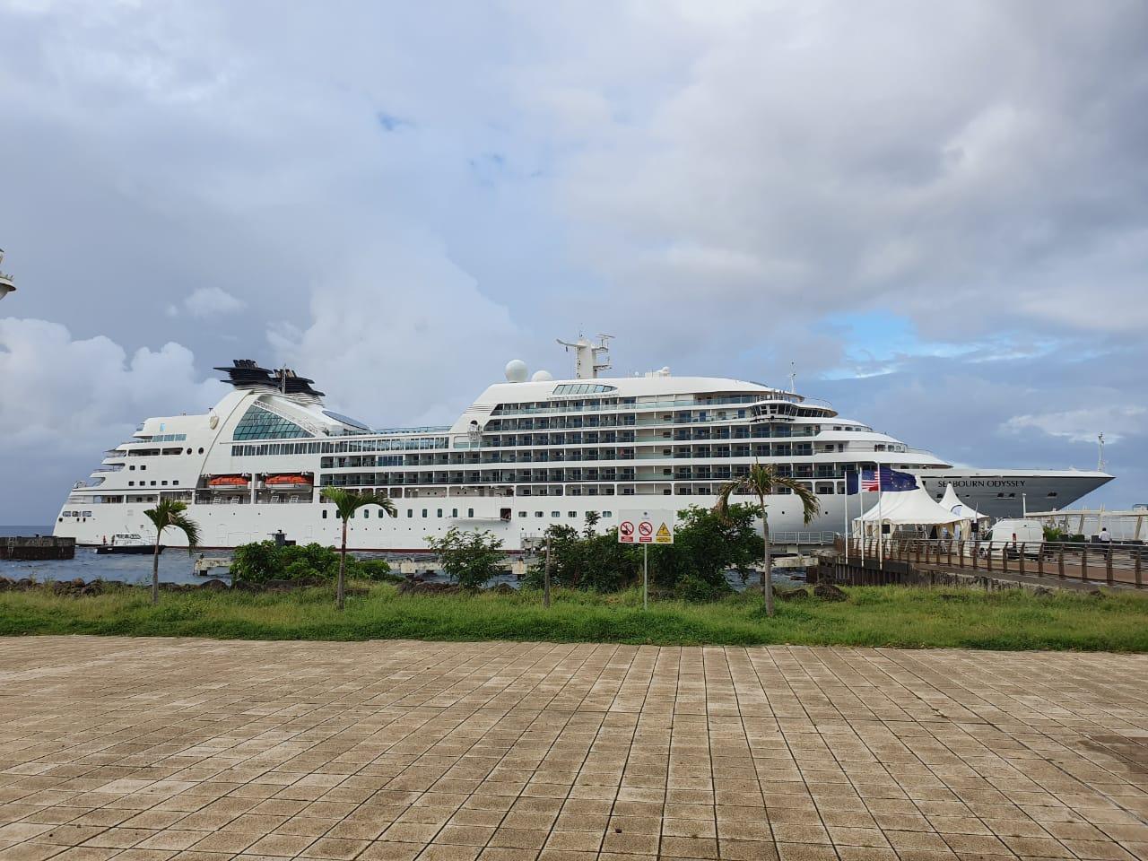 Le premier bateau de croisière est arrivé à Basse-Terre