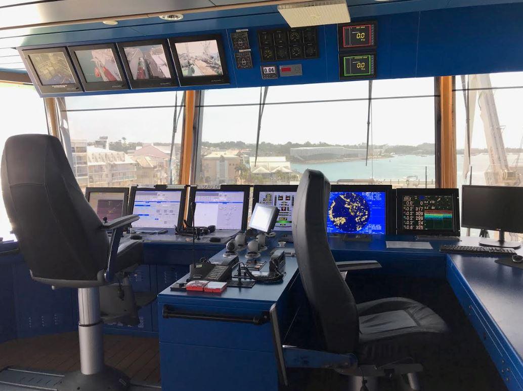 Visite embarquée à bord du navire Pierre de Fermat