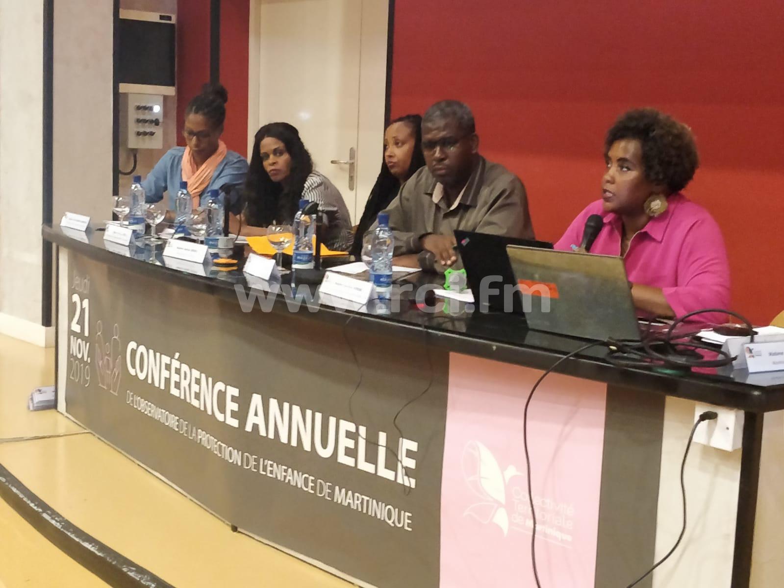 L'observatoire de la protection de l'enfance de Martinique organisait sa conférence annuelle