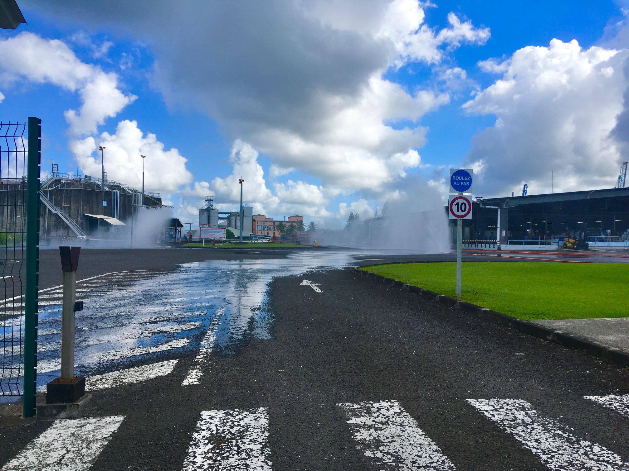 Revivez en images l'exercice d'alerte industrielle à Jarry