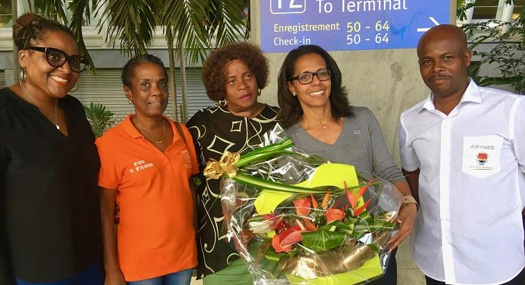 Audrey Pulvar est en Guadeloupe pour parler de la place de la femme