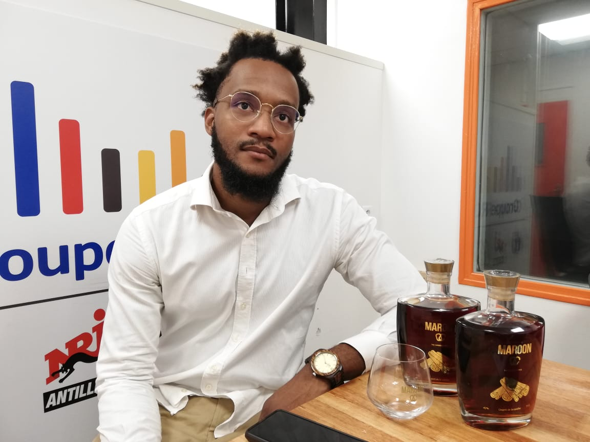 Maroon, le nouveau rhum épicé made in Guadeloupe