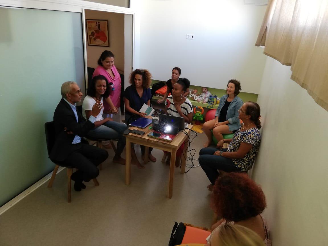 """Vif succès pour la """"Maison des naissances"""" des Eaux Claires"""