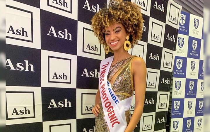 Noémie Milne élue miss photogénique au concours international