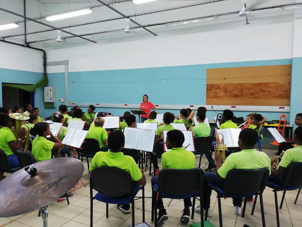 La section orchestre à l'école inaugurée au collège Robert 3