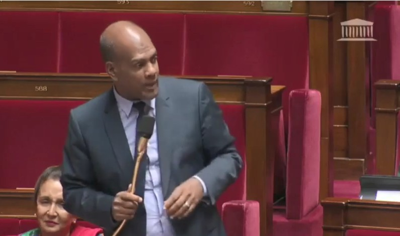 Intervention du député Serge Letchimy au sujet des prix des billets d'avion
