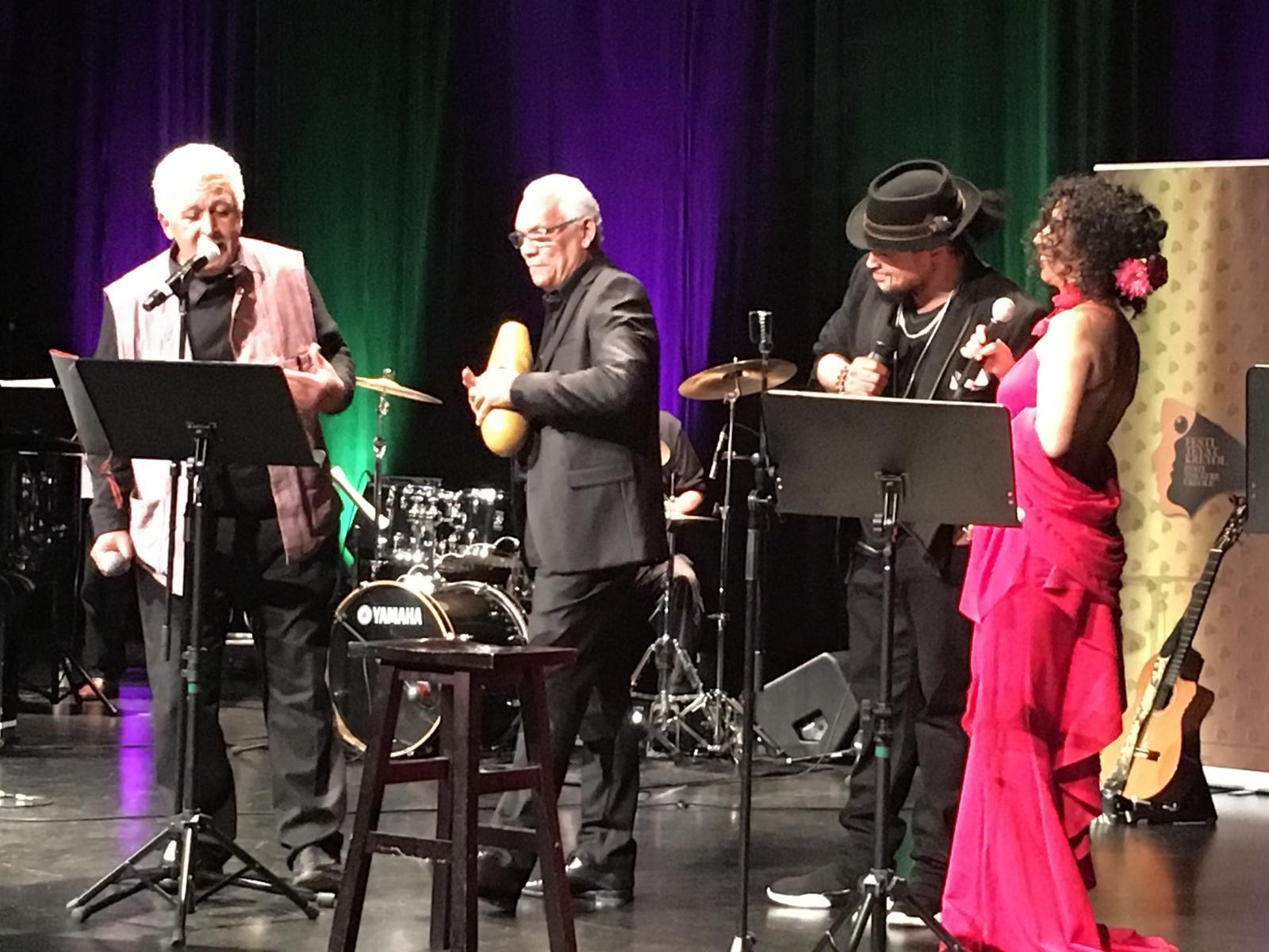 À Montréal, Ralph Thamar et Alan Cavé clôturent le festival téyatkreyol