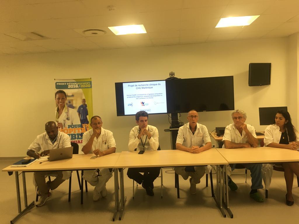 Sarga Care : le projet de recherche qui s'intéresse à l'impact sanitaire des sargasses