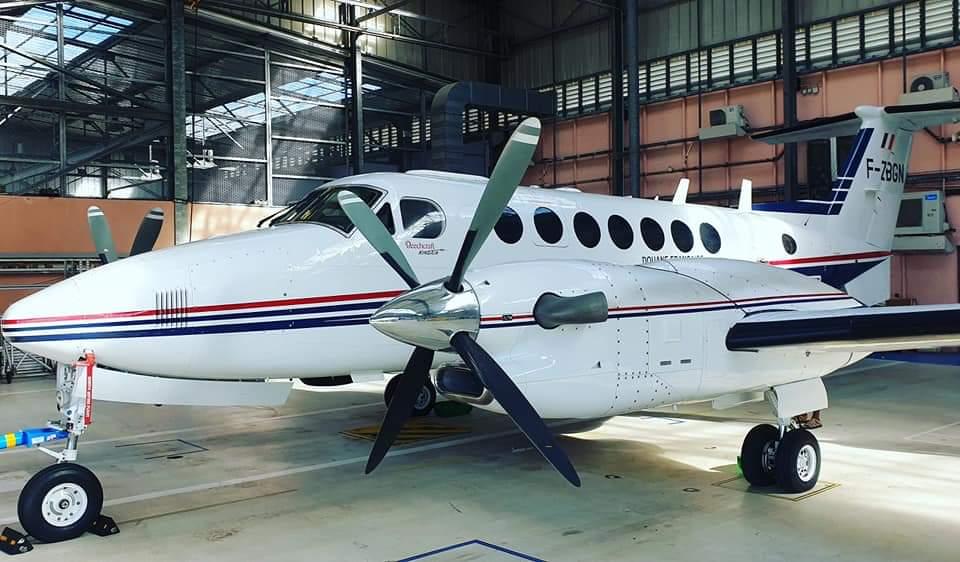Un nouvel avion des douanes pour lutter contre le narcotrafic