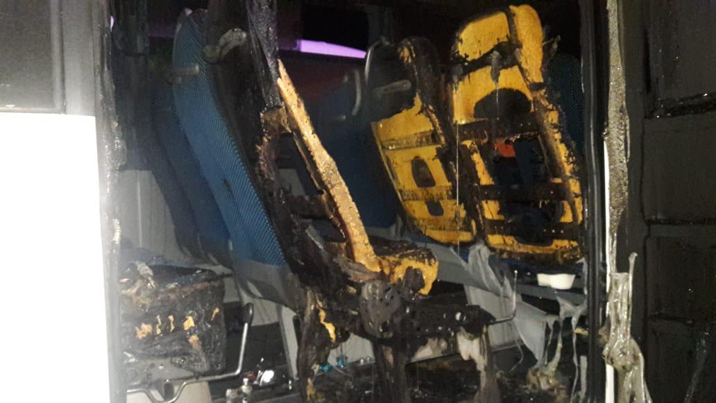 La société de transport trinitéenne CTCN perd un bus neuf dans un incendie volontaire