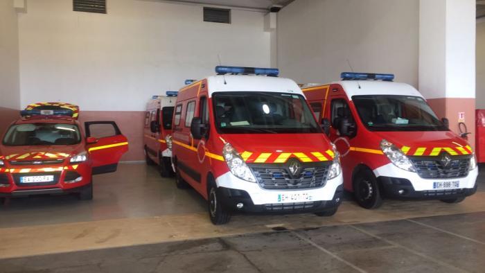 15 nouveaux véhicules de secours pour les pompiers de Martinique