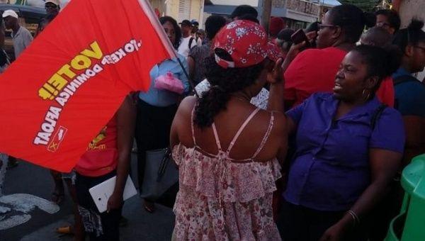 Elections houleuses à la Dominique