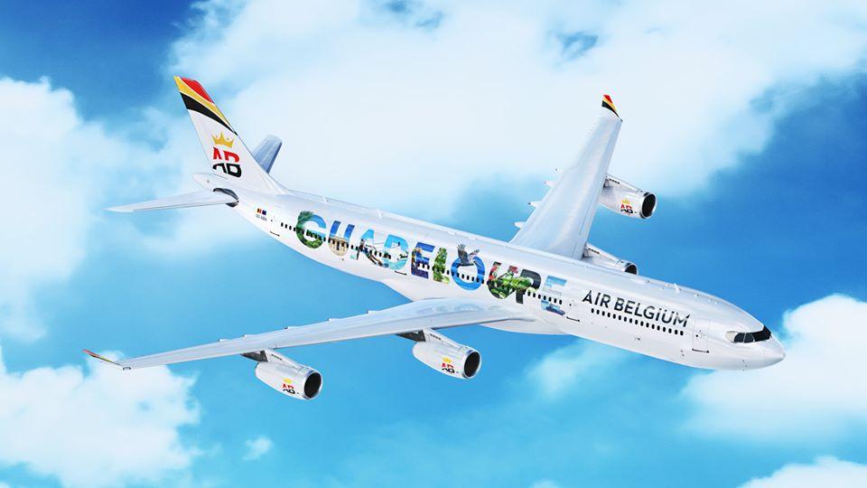 Air Belgium habille ses avions aux couleurs des Antilles
