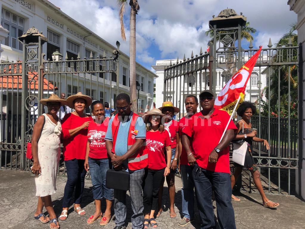 Le syndicat CGTM-SOEM reçu par le préfet sur le dossier des retraites