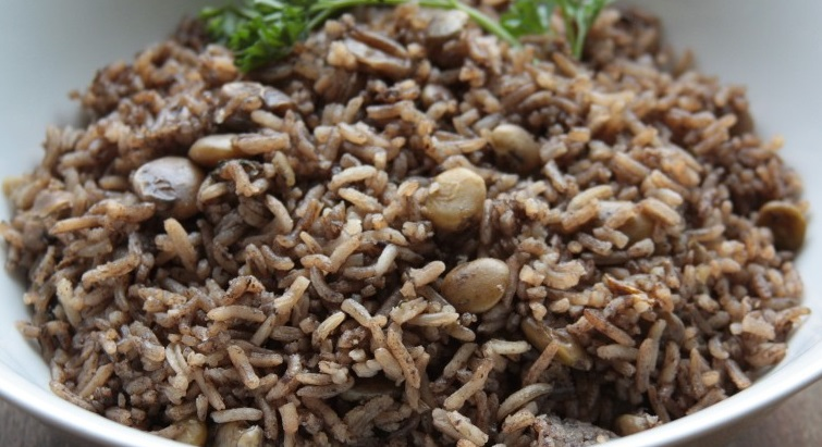 Haïti est à l'honneur avec la recette du riz Djon Djon
