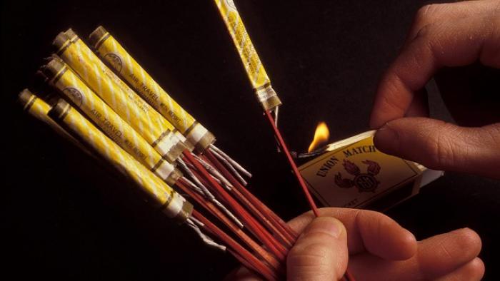 Réglementation autour de l'utilisation des pétards et feux d'artifices