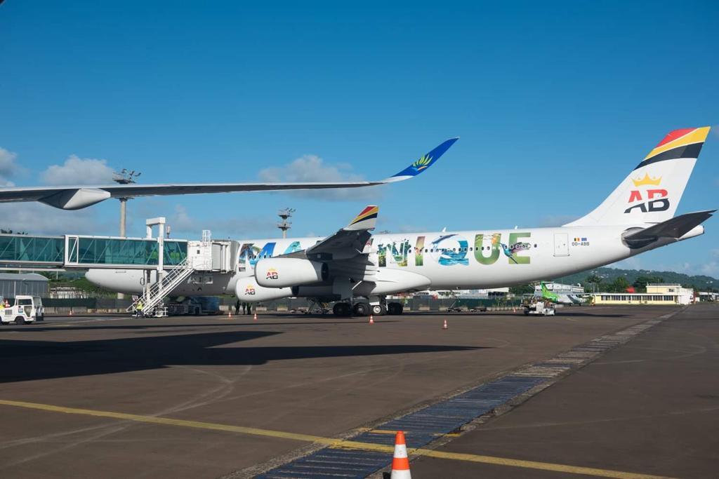 Le premier vol de Air Belgium s'est posé en Martinique