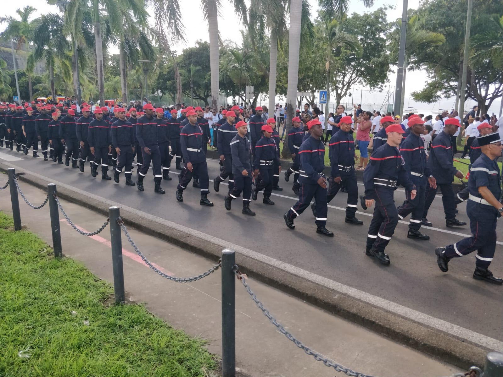 Sainte-Barbe : les pompiers célèbrent leur sainte patronne
