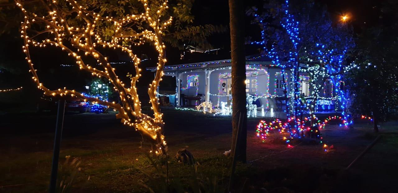 Les merveilleuses illuminations de fin d'année