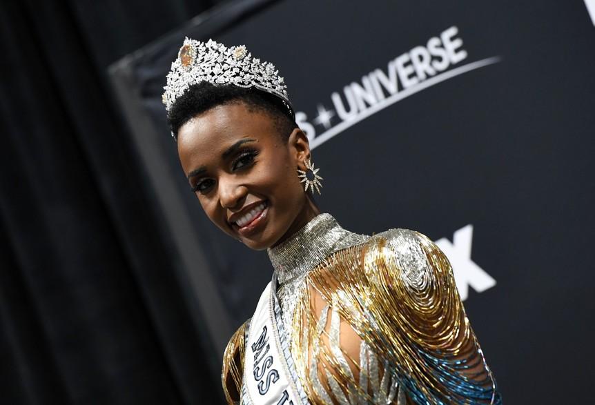 Zozibini Tunzi, Miss Afrique du Sud couronnée dans l'univers