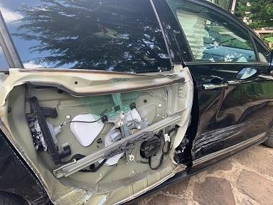 Josette Borel-Lincertin, victime d'un accident de voiture