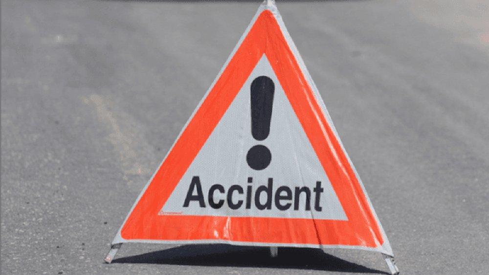 Une femme bléssée légèrement près de la bretelle de Destreland dans un accident