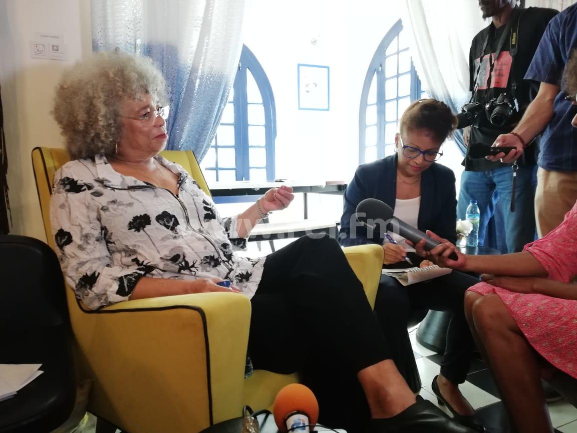 Angela Davis et l'UFM fêtent leurs 75 ans