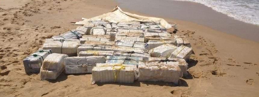 De la cocaïne sur la plage du Tombolo ?