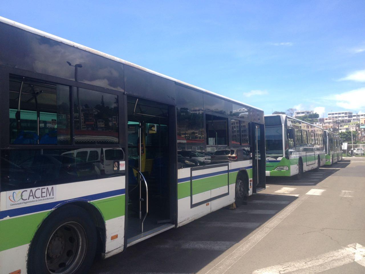 CFTU : le service reprend progressivement sur les routes de la Cacem