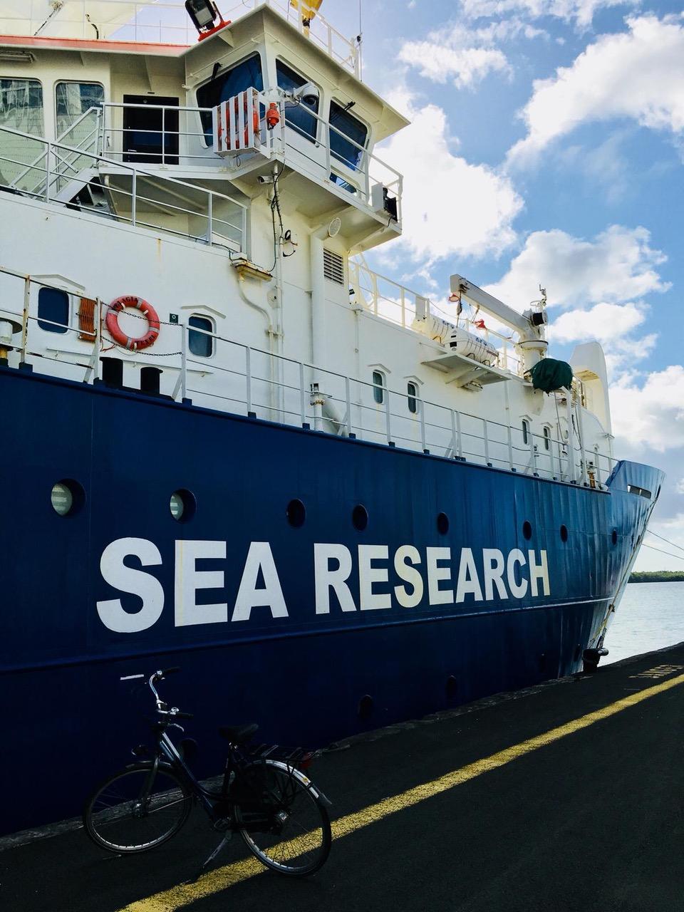 Une guadeloupéenne traverse l'Atlantique pour étudier les sargasses