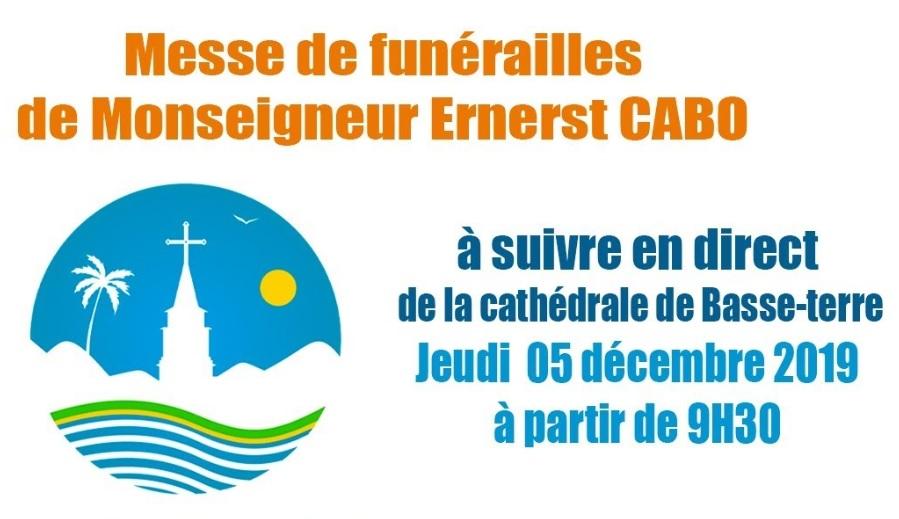 Suivez en direct les obsèques de Monseigneur Cabo