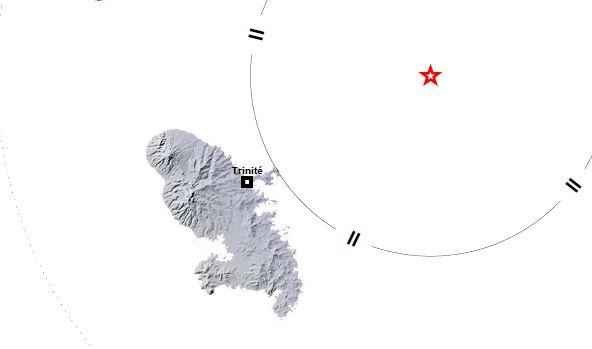 Un léger tremblement de terre de 4,2 sur l'échelle de Richter ressenti cette nuit