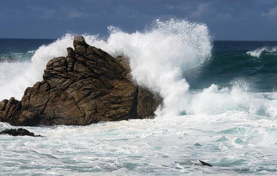 La Guadeloupe en vigilance jaune pour mer dangereuse à la côte