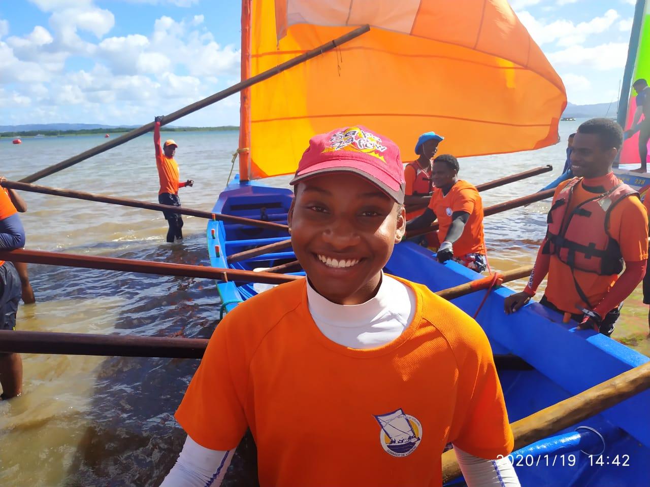 Portrait du jour : passionnée d'activité nautique, Maïlys Soleil est mise à l'honneur