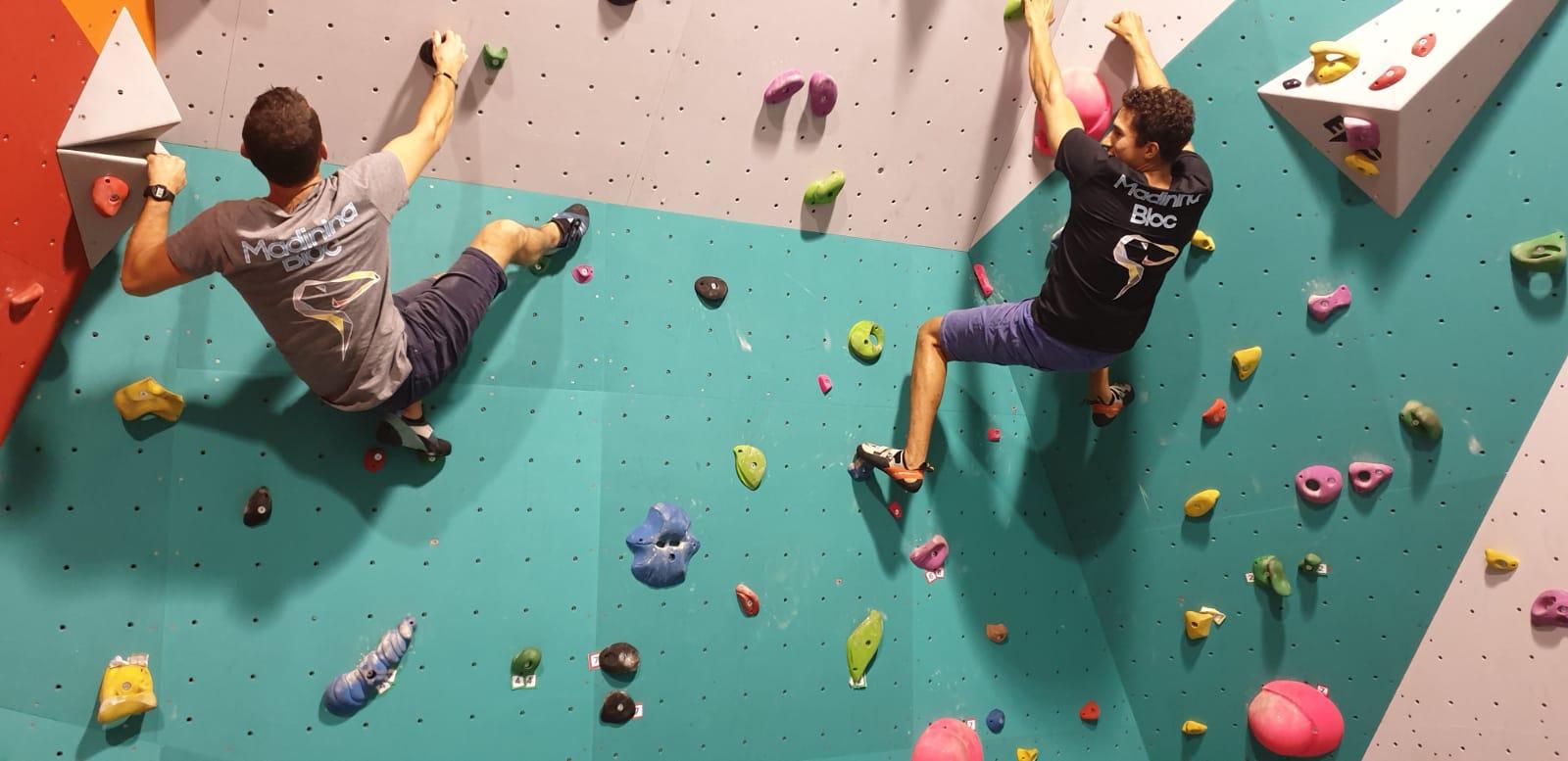 La première salle d'escalade a ouvert ses portes fin décembre au Lamentin