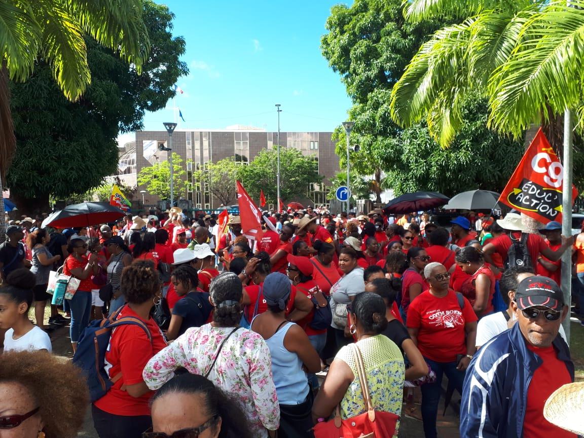 Réforme des retraites : la mobilisation se poursuit en Martinique