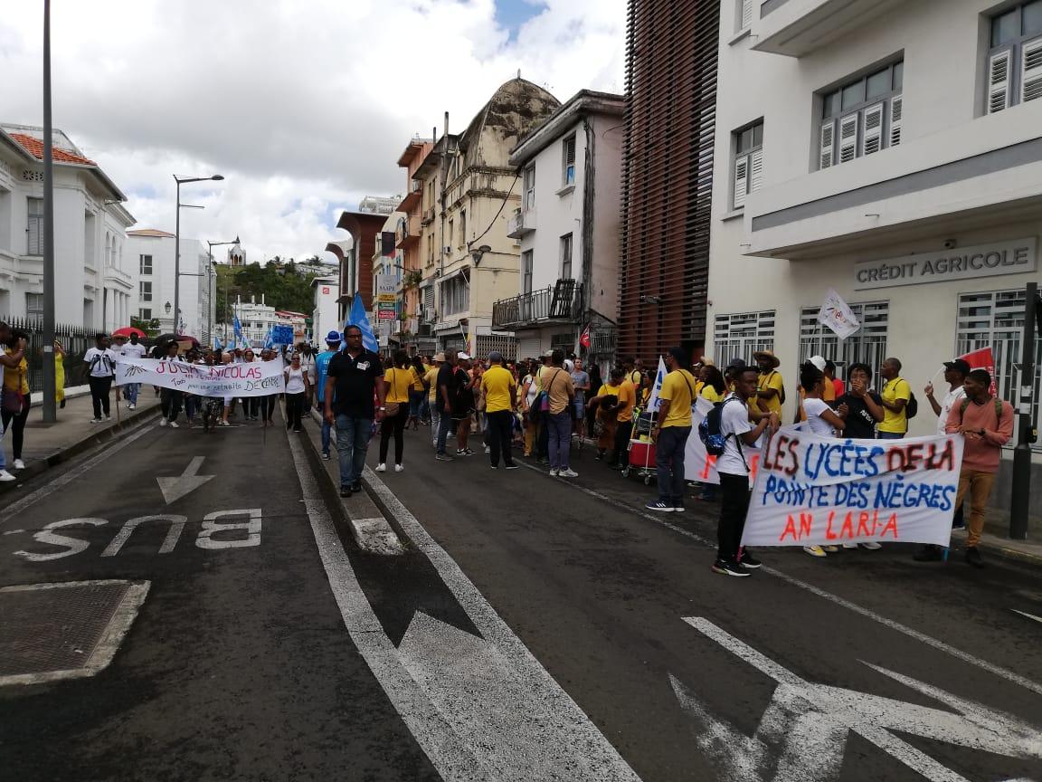 Nouvelle mobilisation dans les rues de Fort-de-France ce mercredi
