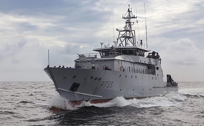 Un navire surpris en flagrant délit de pêche illégale intercepté
