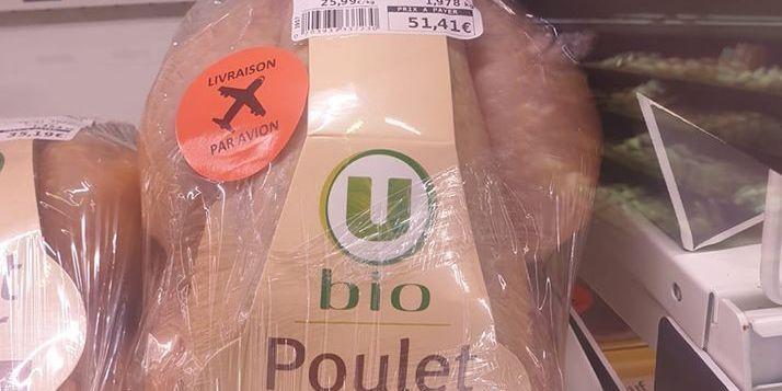 Vie chère : un poulet bio à 51 euros provoque l'indignation