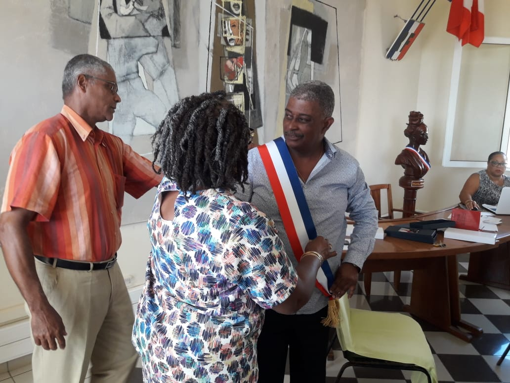 Un nouveau maire pour Capesterre de Marie-Galante